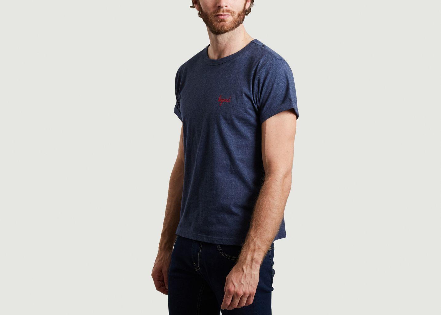 T-shirt en coton bio brodé Legend - Maison Labiche