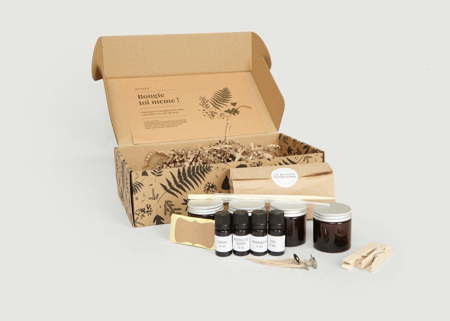 Kit DIY Parfums Floraux et Fruités - La Bougie Herbivore