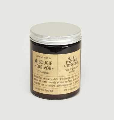 N°8 Poudre d'Etoiles 140g Scented Candle