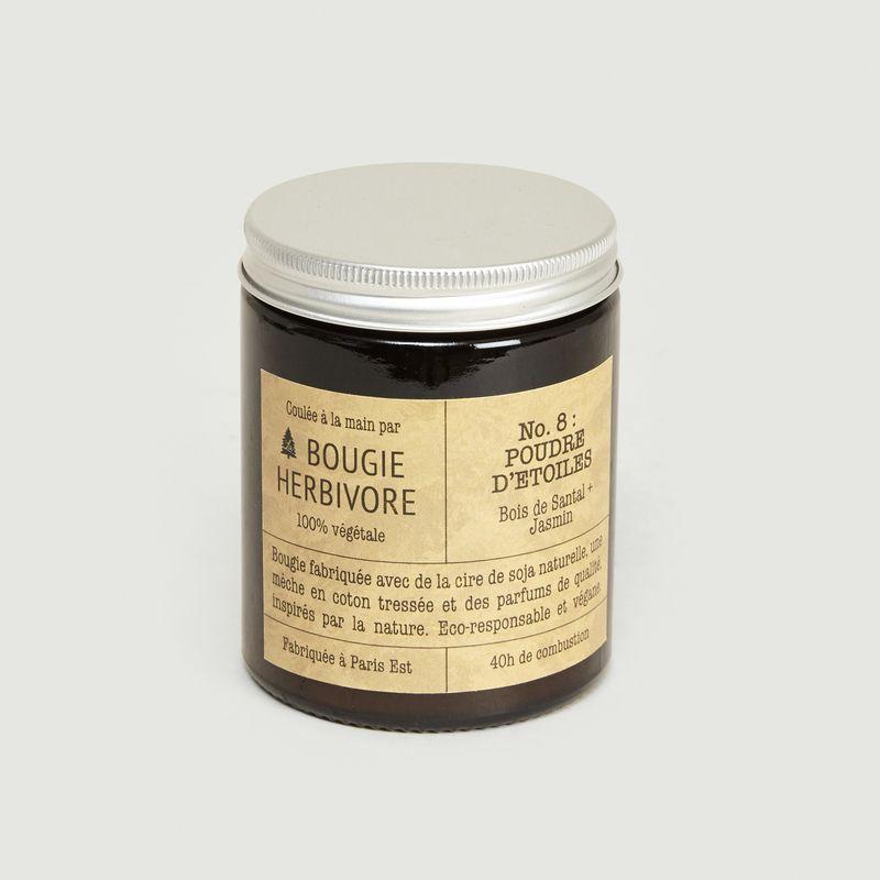 Bougie N°8 Poudre d'Etoiles 140g - La Bougie Herbivore