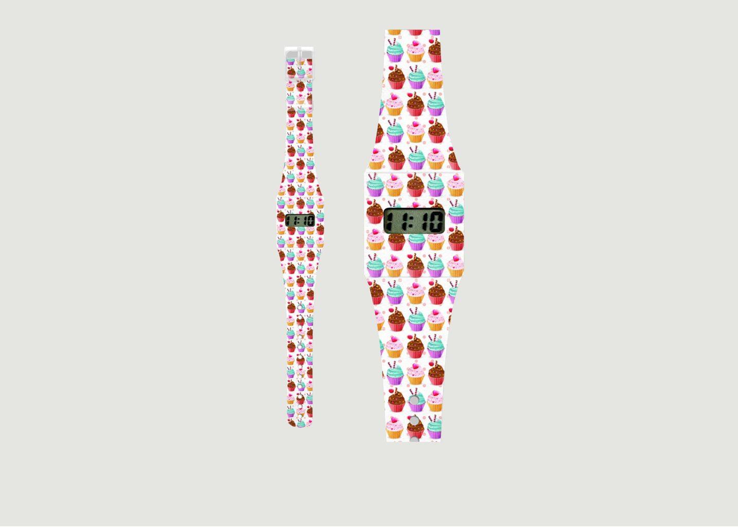 Montre Papier Cupcake - La Boutique Cadeaux