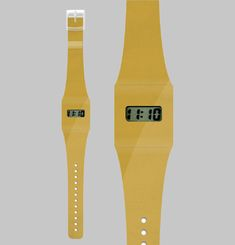 Gold Metallic Paper Watch