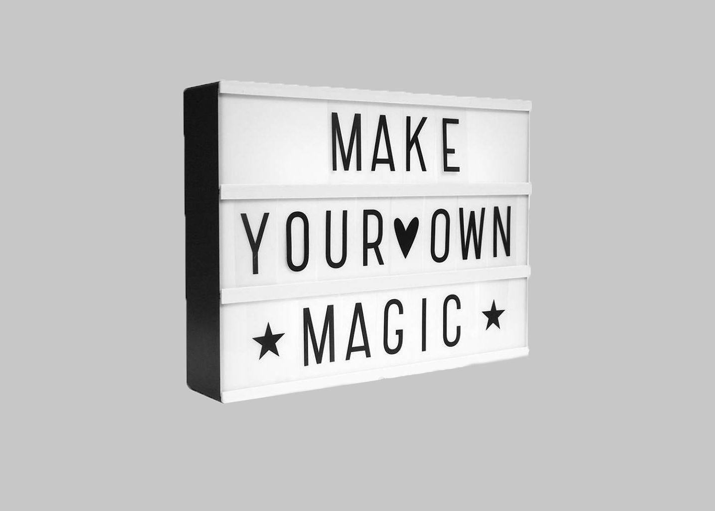 lightbox a4 la boutique cadeaux blanc l 39 exception. Black Bedroom Furniture Sets. Home Design Ideas