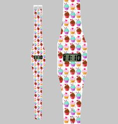 Cupcake Paper Watch