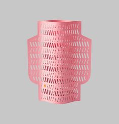 Perforated Paper Vase