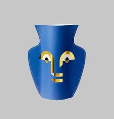 Vase en Papier Apollo
