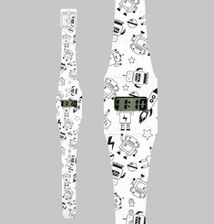 Roboto Paper Watch