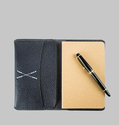 Leather Travel Wallet & Journal
