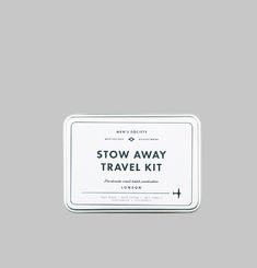 Stow Away Travel Kit
