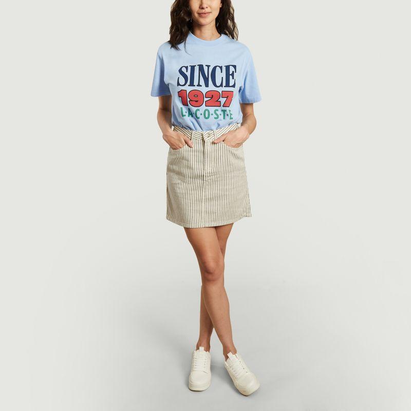 T-shirt logotypé en coton - Lacoste