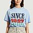 matière T-shirt logotypé en coton - Lacoste