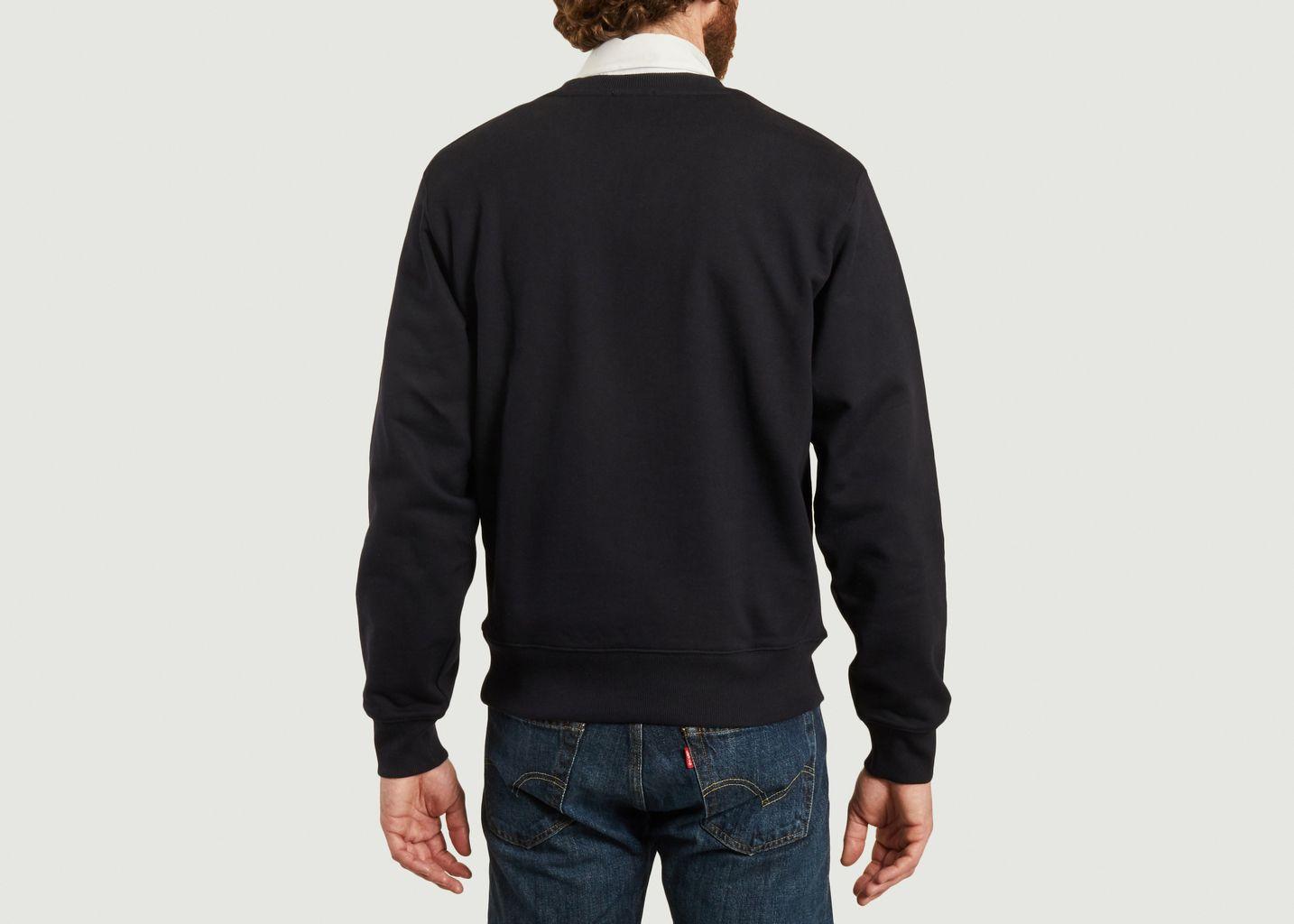 Sweatshirt Logo Bleu Marine  - Lacoste