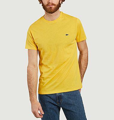 T-Shirt en Jersey de Coton Pima Logo