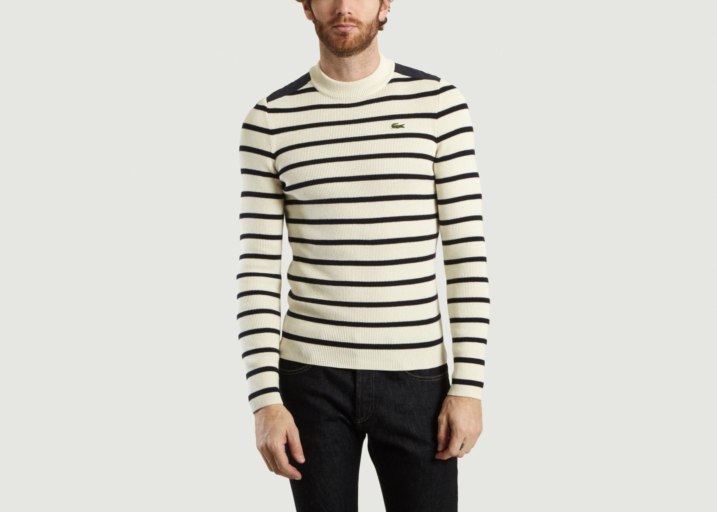 prix le plus bas Los Angeles bonne texture Interlock Striped Jumper