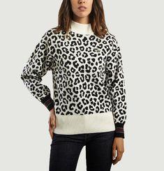 Leopard Jacquard Jumper