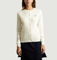 Cardigan Col Rond Lacoste