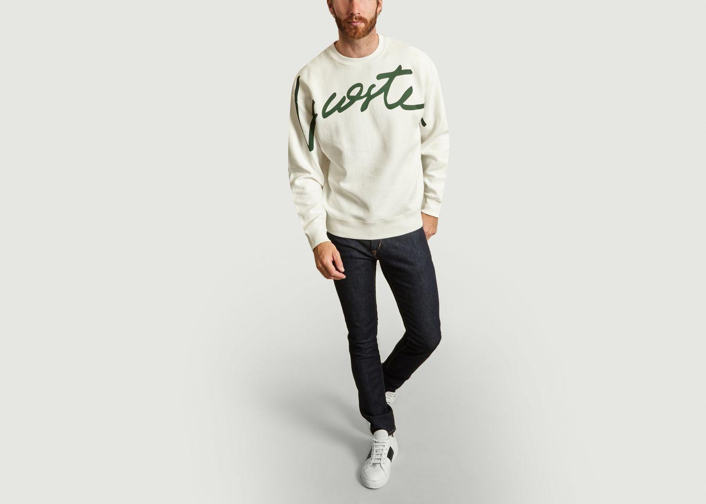 Sweatshirt Signature - Lacoste Live