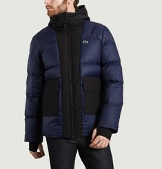 Colour Block Padded Jacket