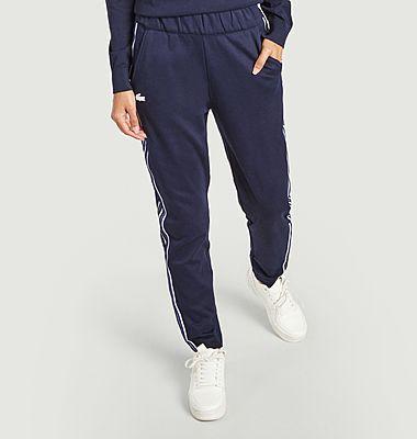 Pantalon de jogging à bandes contrastées