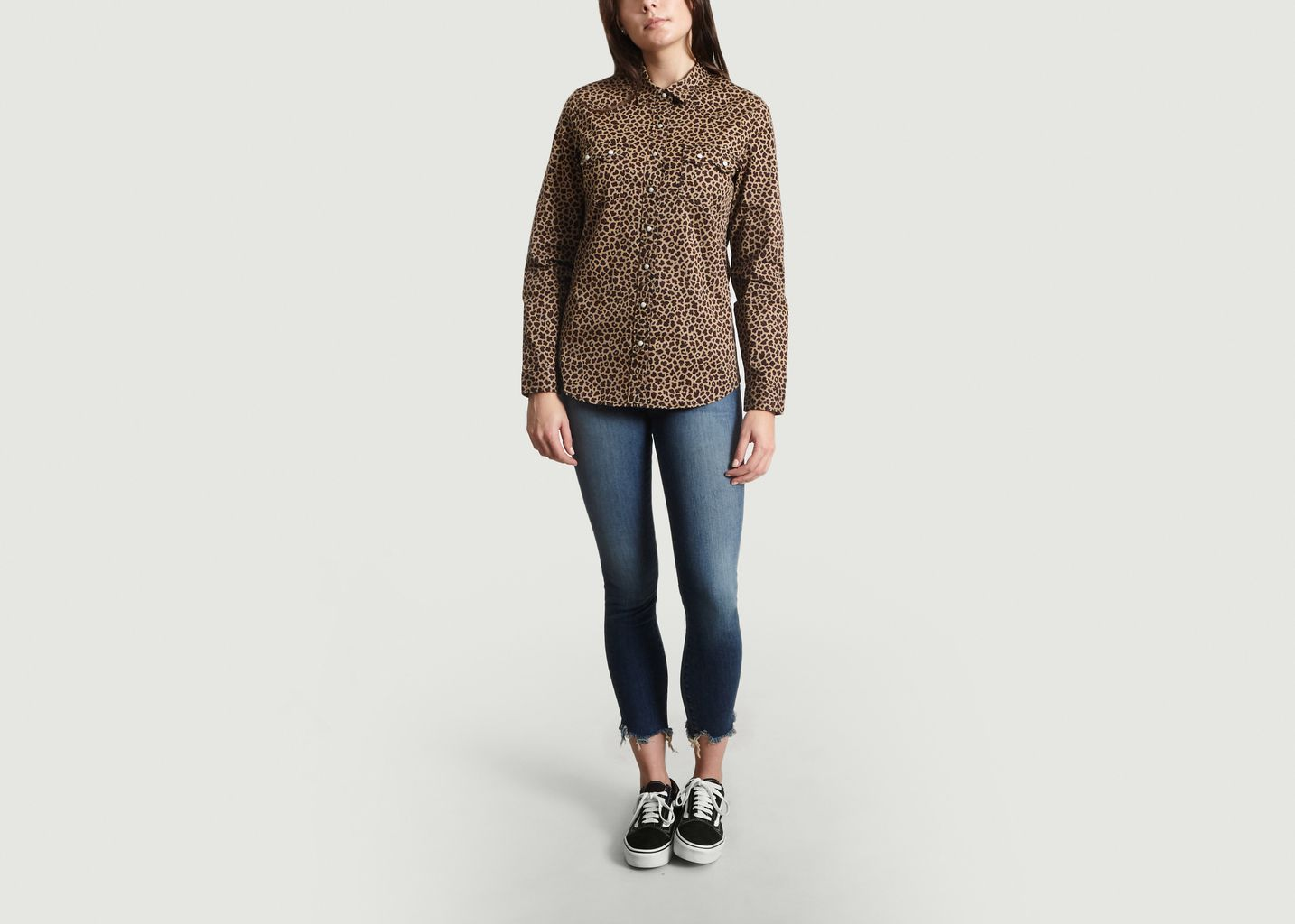 best deals on new style wholesale dealer Leopard Printed Shirt