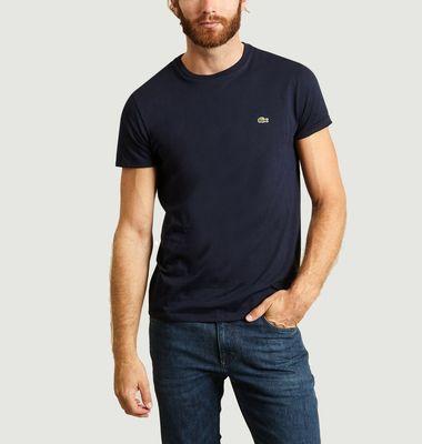 T-Shirt en Jersey de Coton Pima