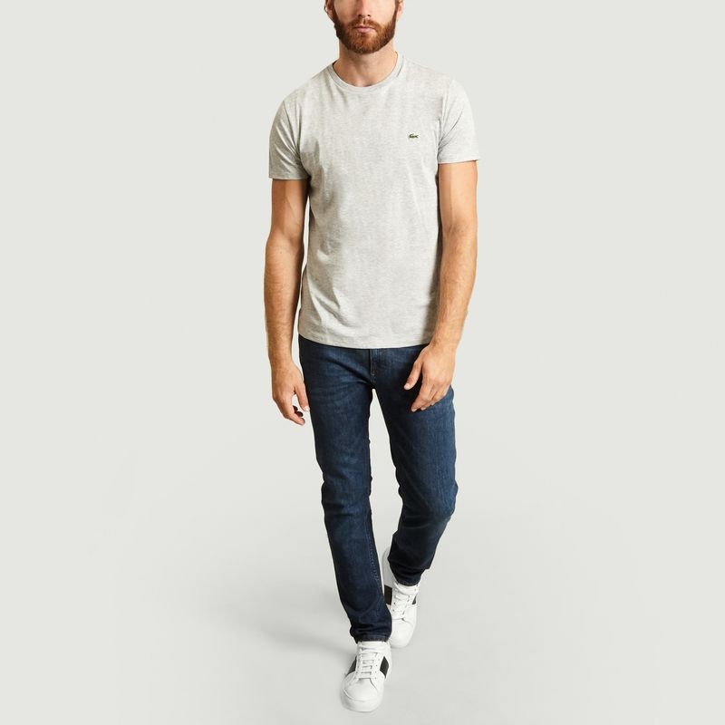 T-Shirt en Jersey de Coton Pima - Lacoste
