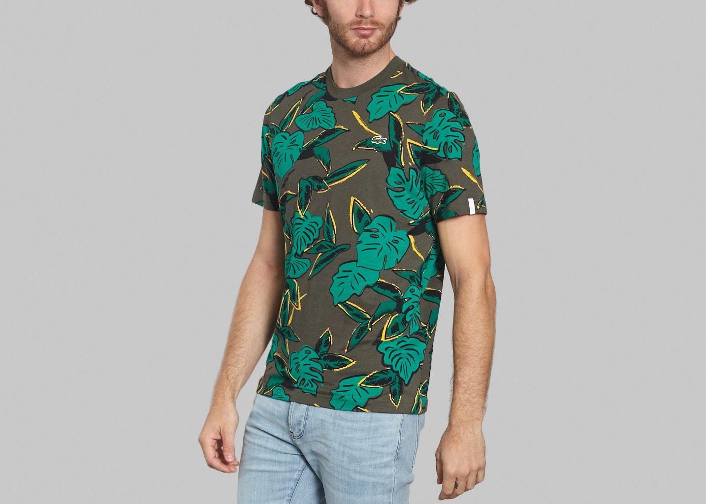 L'exception Baobab Khaki Live Lacoste Shirt T PqwBzx