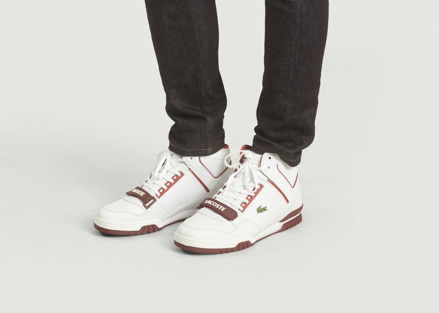 b11169e034 Sneaker Mid Missouri Rouge Foncé Lacoste Live   L'Exception