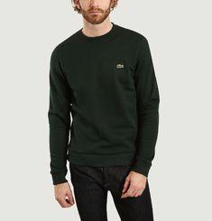 Sweatshirt Molleton Col Rond Sinople