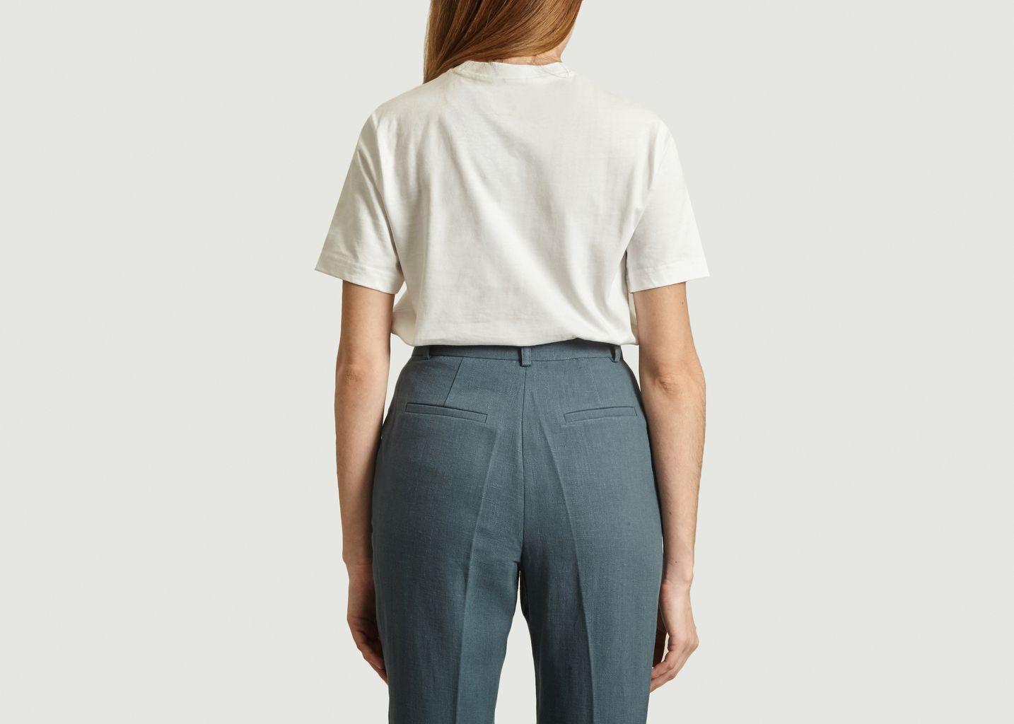 T-shirt siglé en coton - Lacoste Live