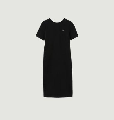 Robe t-shirt en coton mélangé