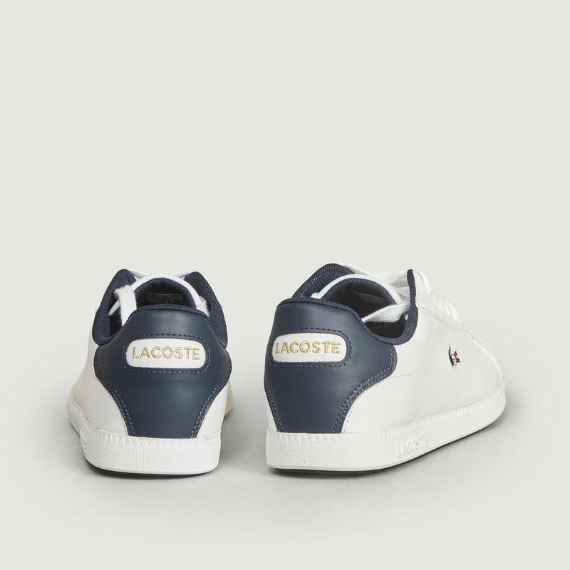 Sneakers Graduate crocodile tricolore - Lacoste