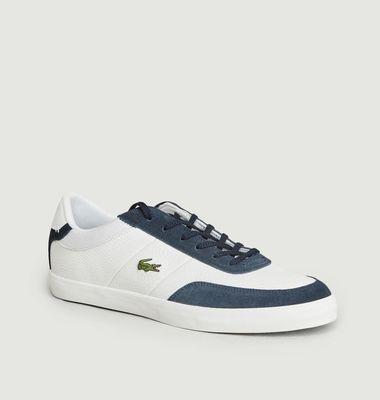 Sneakers Court-Master en cuir et synthétique