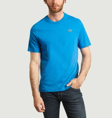 T-shirt en coton avec imprimé logotypé au dos