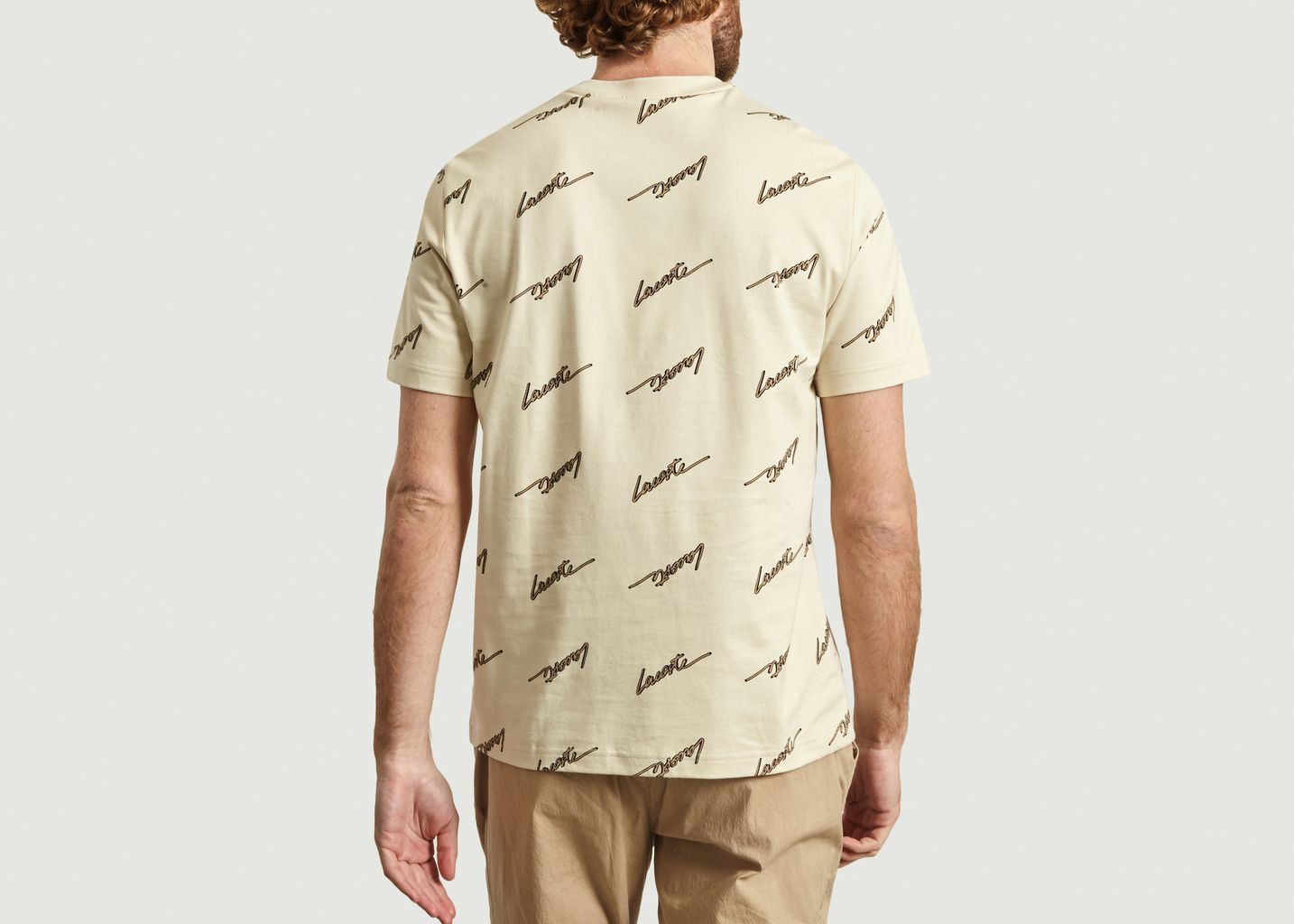 T-shirt Logo allover - Lacoste Live
