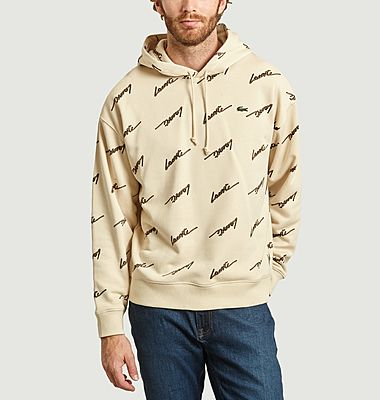 Hoodie logotypé all-over