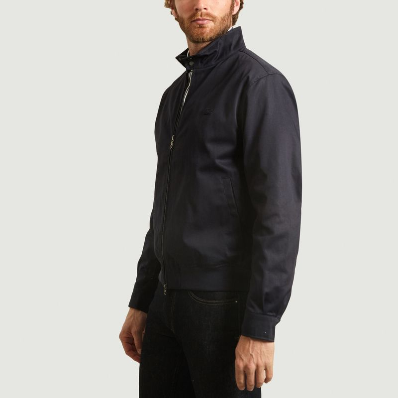 Blouson zippé en coton - Lacoste