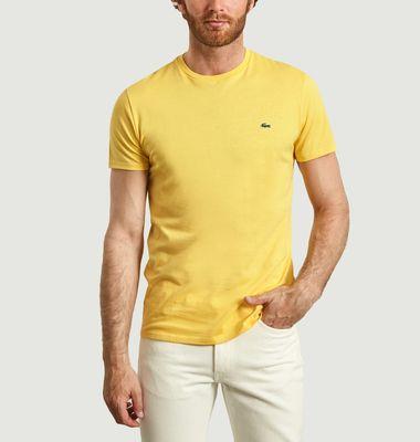 T-shirt logotypé en coton pima