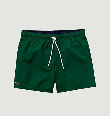 Swim shorts with logo fast drying