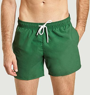 Swim shorts with logo fast drying