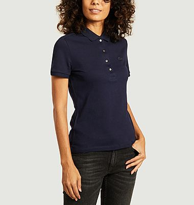 Polo siglé slim fit
