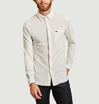 Organic cotton slim fit shirt