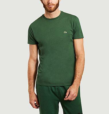 T-shirt siglé en coton pima