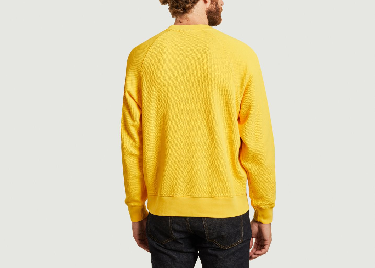 Sweatshirt siglé en coton bio - Lacoste