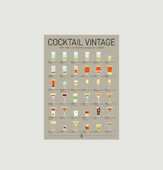Vintage Cocktail Poster