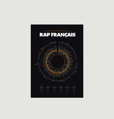 French Rap Poster