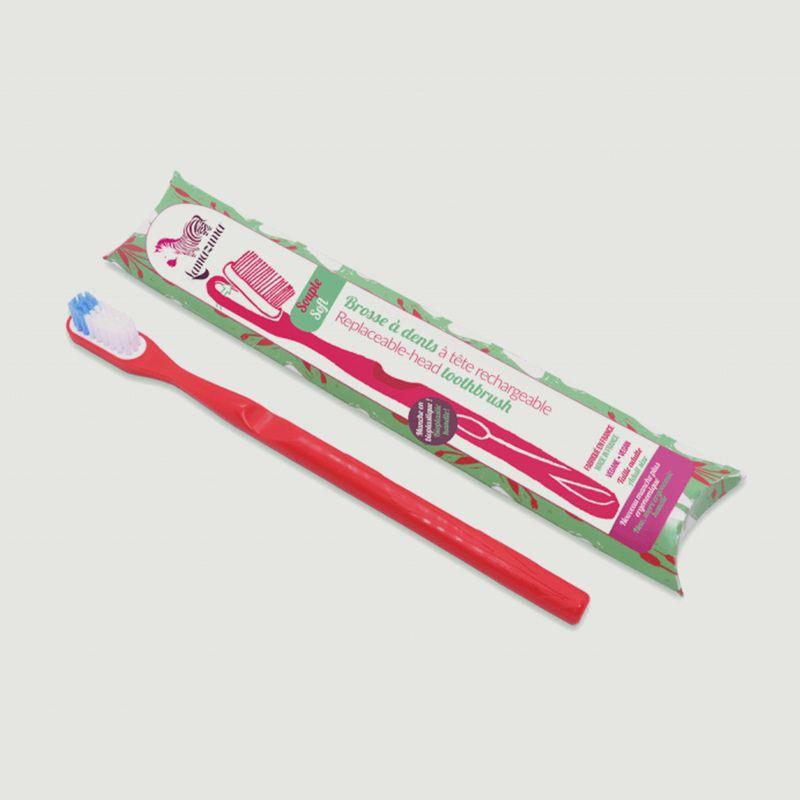 Brosse à dents végétale bio souple - Lamazuna