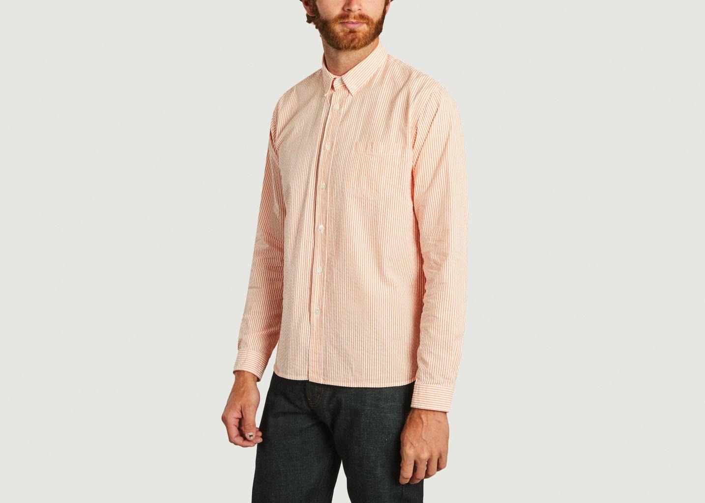 Chemise Branco rayée - La Paz