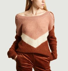 Pull Tricolore Paysage