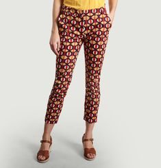 Paco Wax Printed Trousers
